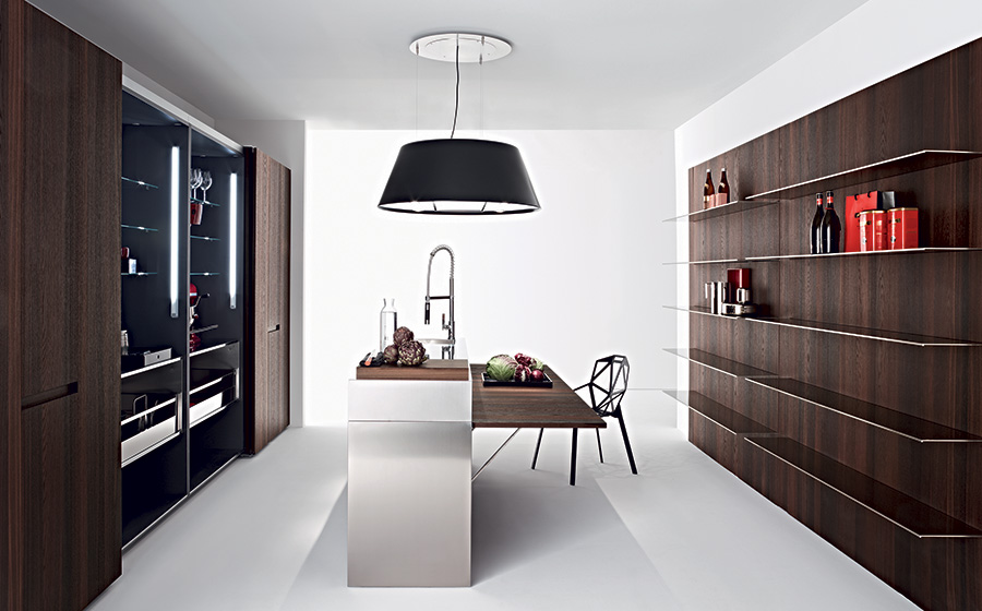 Slim-modern-kitchen-by-Elmar