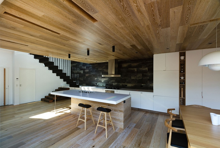 Wooden-ceiling-and-floor-give-the-home-a-distinct-identity
