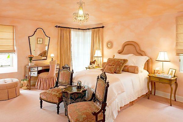 Дизайн спальни для леди