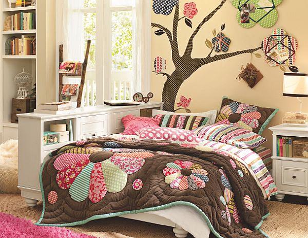Клевый молодежный дизайн комнаты для девочки