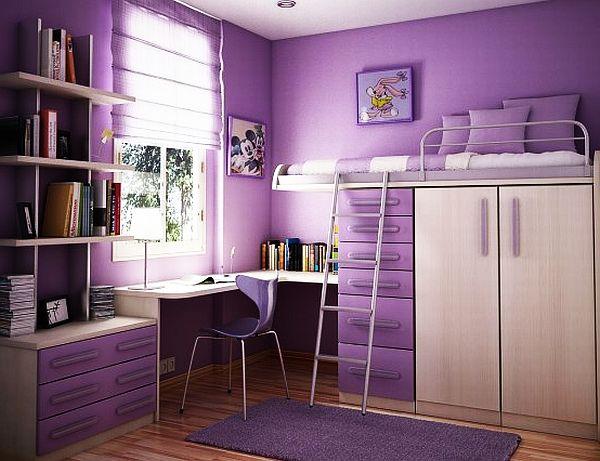 Дизайн подростковой комнаты для девочек фото