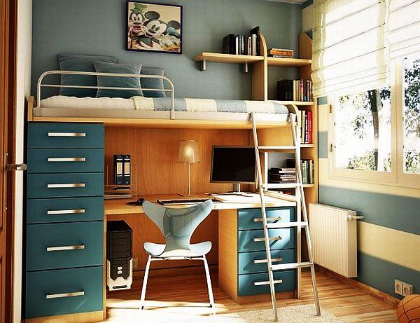 Современный дизайн спальни девочки