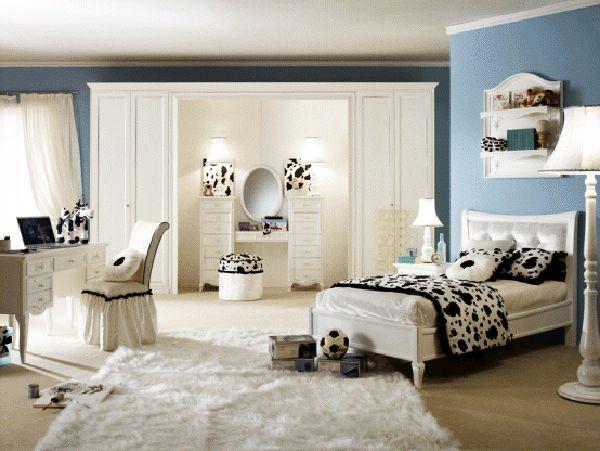 Роскошная спальня для девочки-подростка