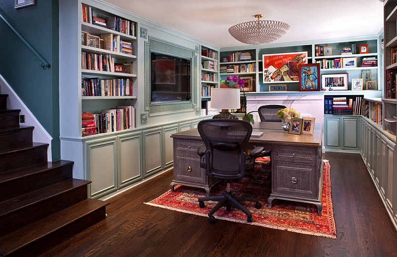 Transitional-basement-home-office-that-is-a-real-showstopper