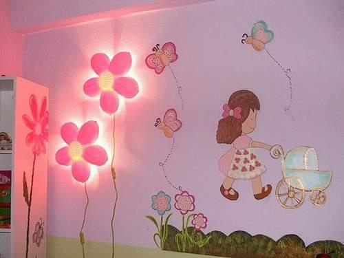 Красивый декор в розовом цвете