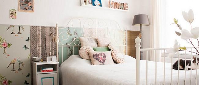 Идеи для модных спален с очаровательной женской энергетикой