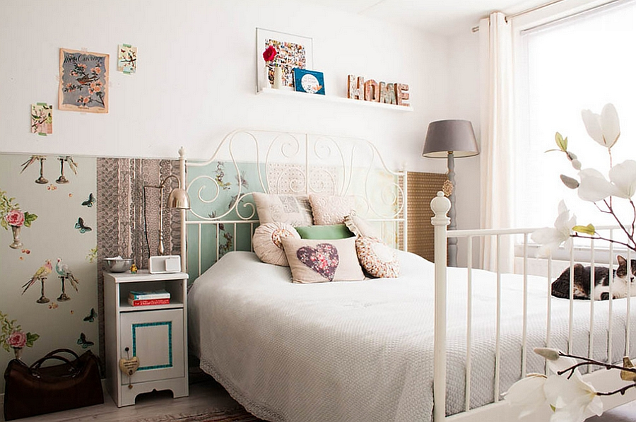 DIY-and-Flea-market-finds-bring-inimitable-style-to-the-bedroom
