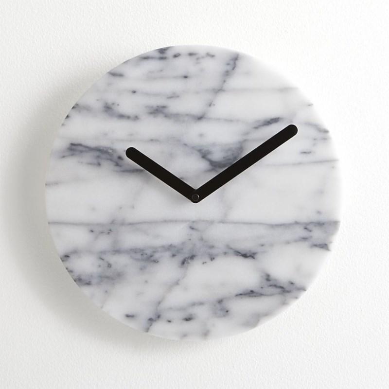 Мраморные настенные часы