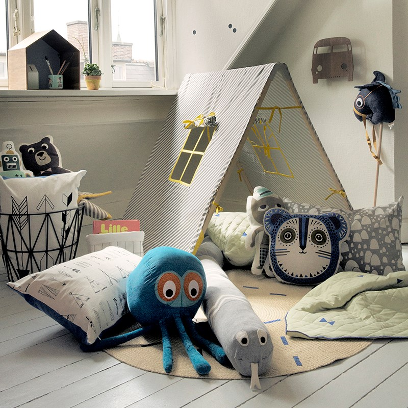 Детская комната от «Фэрм Ливинг».