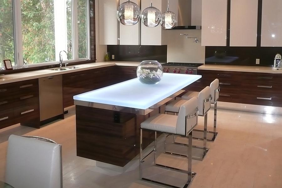 Оригинальная модная кухня, спроектированная и созданная Си Джи Ди.