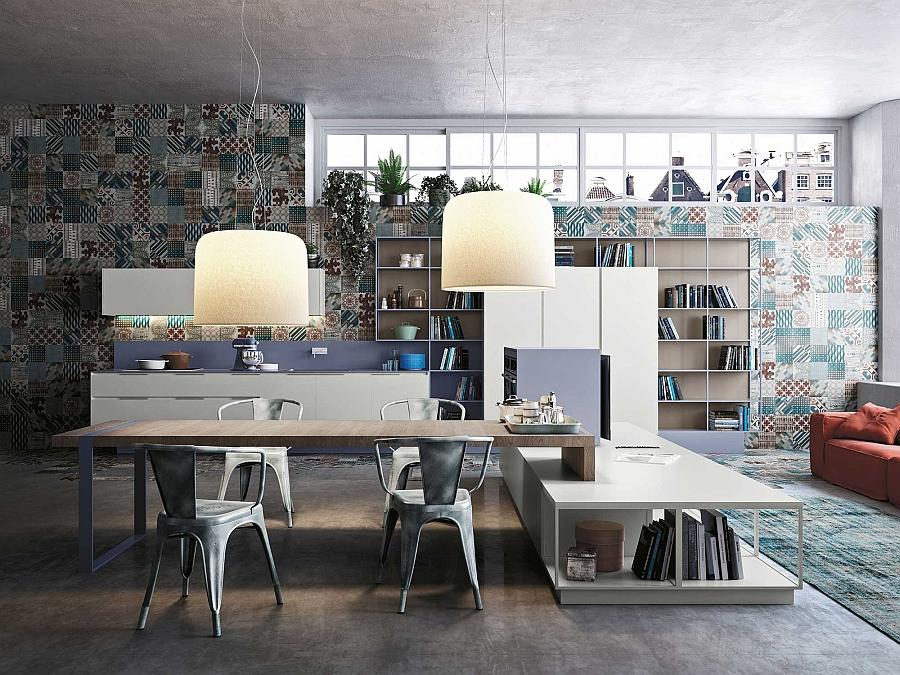 Подвесные светильники, создающие в вашей кухне атмосферу уюта и комфорта.