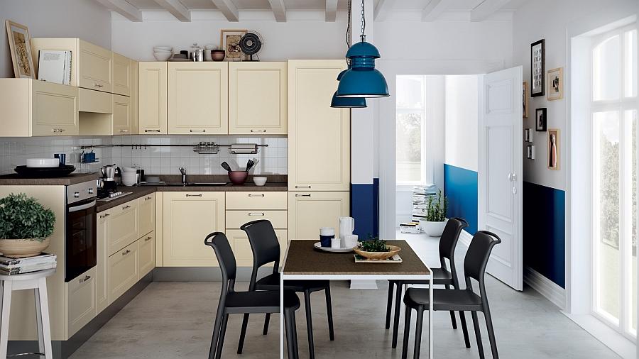 Кухня модели «Городской минимализм» представляет собой отдельную самостоятельную комнату