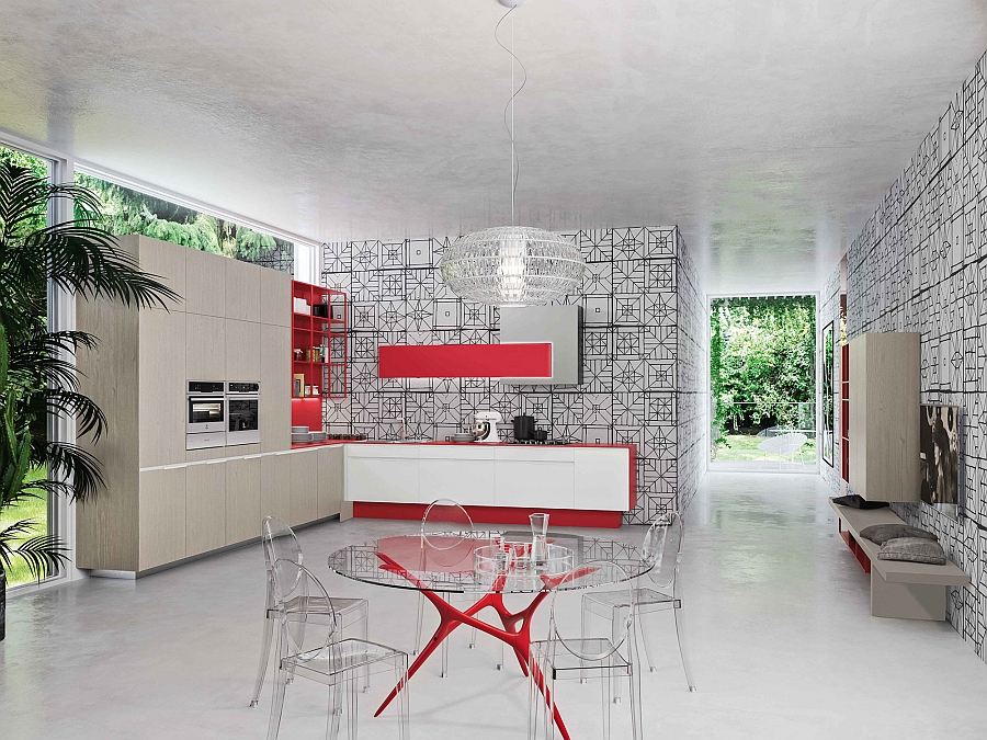 Orange-Evolution-kitchen-in-white-and-red-for-the-the-modern-home
