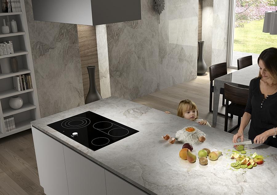 Кухонная мебель, отделанная натуральным камнем, от Антолини – это то, что нужно для гармонии и комфорта вашей семьи. Удобная, прочная, надежная, а главное абсолютно безопасная как для взрослых, так и для самых маленьких.