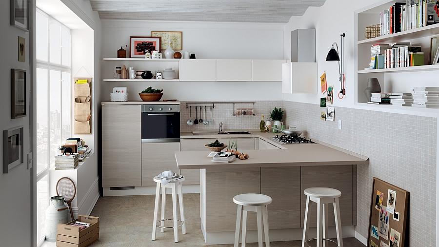 Еще одна кухонная зона из серии «Колония».
