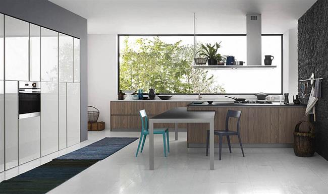 кухня в стиле италии фото интерьер