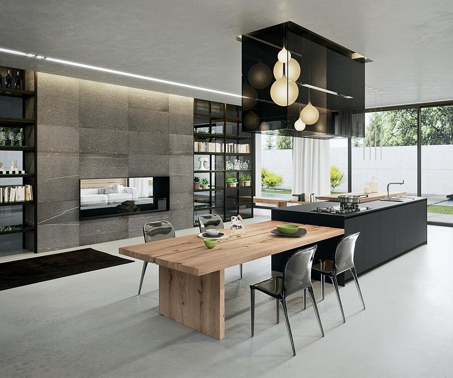 Кухонная зона из коллекции дизайнера AK_04.