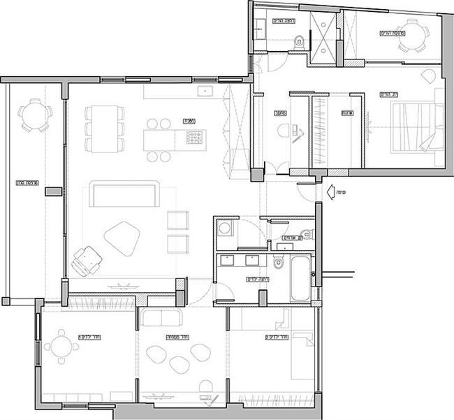 План апартаментов.