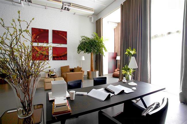 Светлый, просторный кабинет, наполненный положительной энергией Ци.