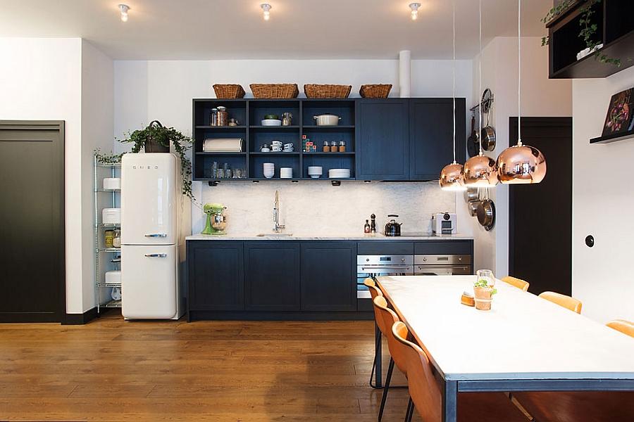 Уютная кухня и столовая.