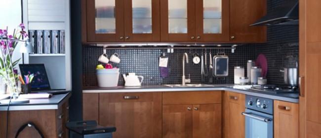 Идеи для маленькой кухни: используем пространство рационально