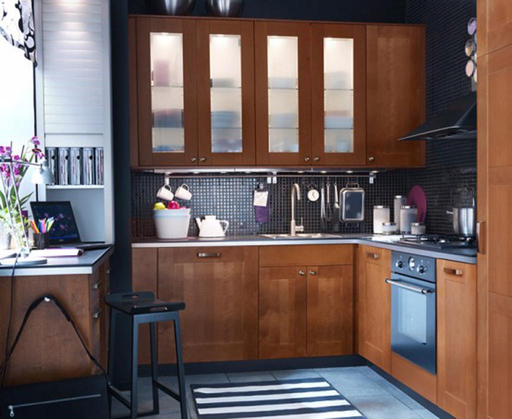 Грамотная организация пространства маленькой кухни особенно важна