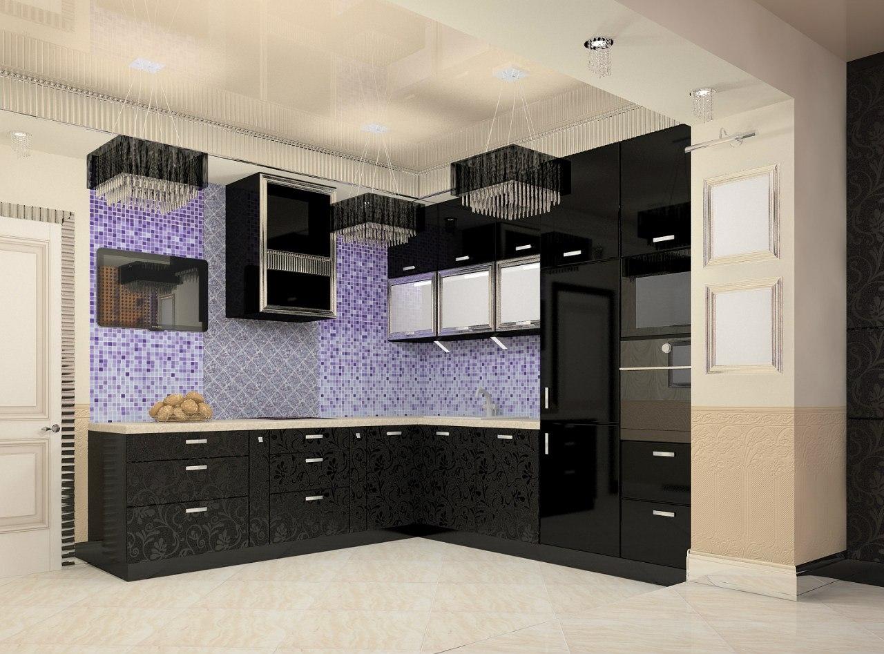 Как правильно оформить дизайн угловой кухни