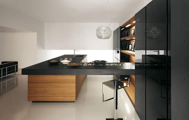 Сделать современную кухню элегантной достаточно просто