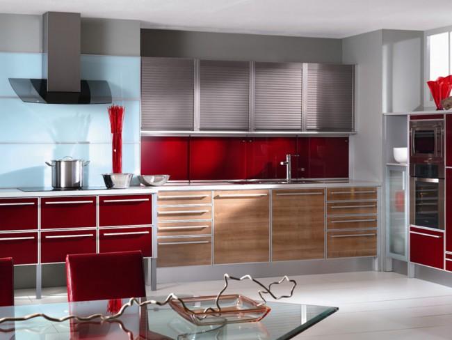 Угловые кухни в стиле модерн - одни из самых распространенных на данный момент