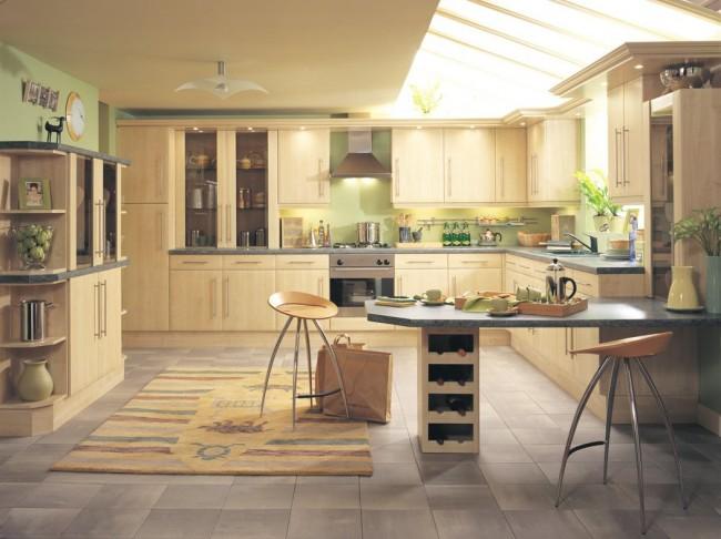 Кухня по фен-шуй: фото, правила сочетаний и расположения