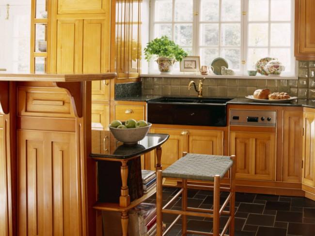 На маленькой кухне важно правильно использовать каждый сантиметр пространства