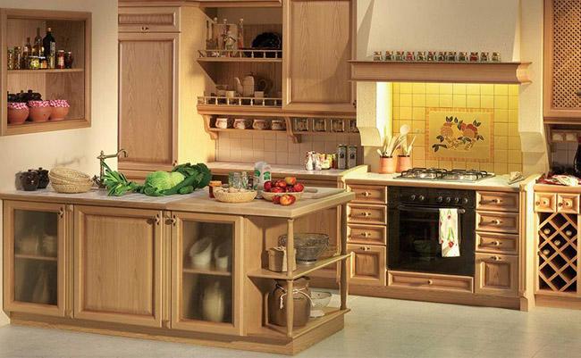 Не смотря на то, что внешне кухня в стиле ретро может казаться устаревшей, ее можно сделать очень даже функциональной