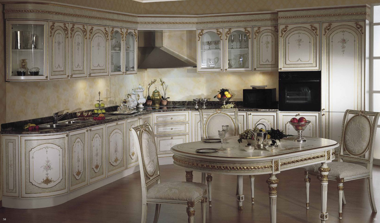 Выбор мебели имеет большое значение при создании интерьера в стиле барокко