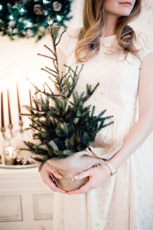 Новогодние композиции с елкой своими руками