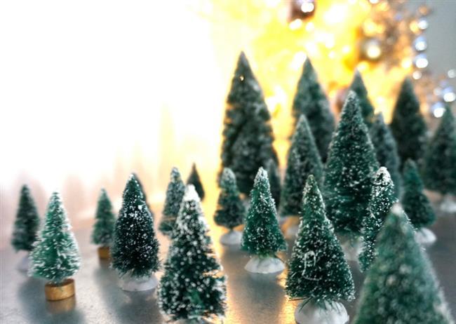 Новогодние винтажные миниатюры для украшения дома и квартиры.