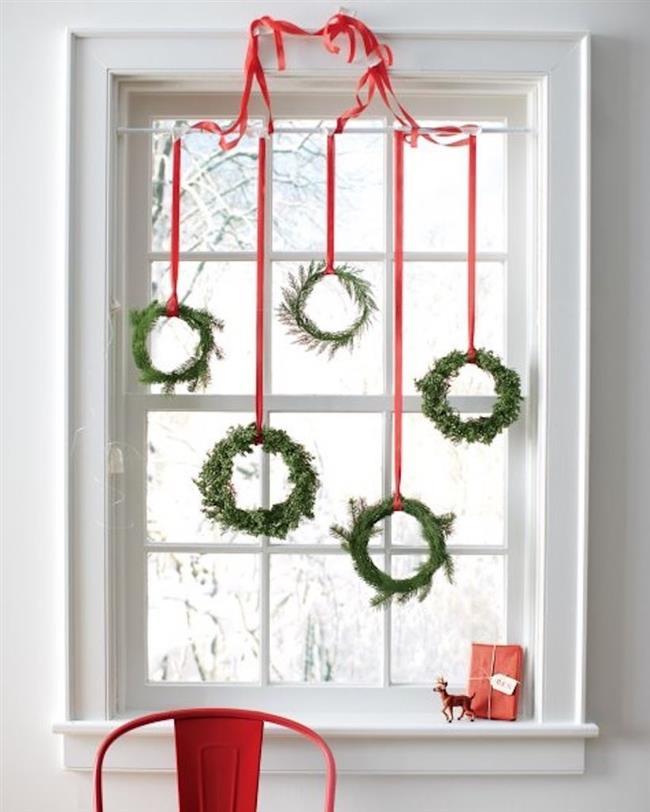 Зимние украшения для дома своими руками 85