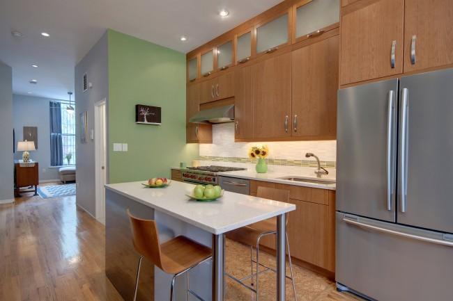 Натуральные цвета характерны для кухни по фен-шуй