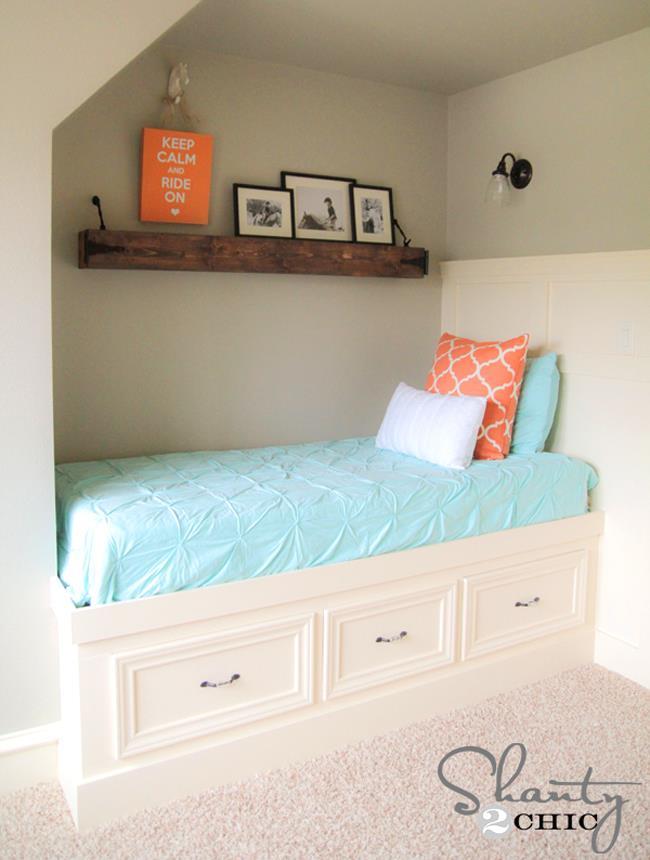 Многофункциональная детская кровать дочери дизайнера.