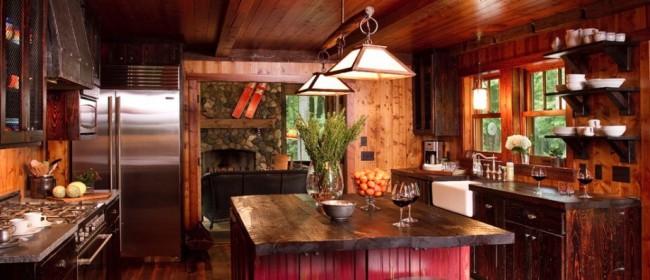 Кухня в стиле кантри: фото различных направлений стиля