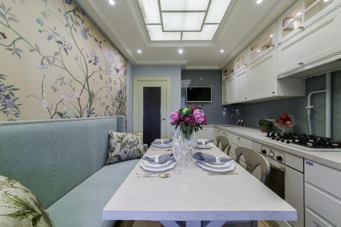 Кухня в 10 квадратов - оптимальный вариант для не очень больших квартир