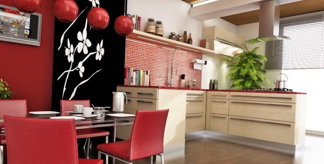 Правила фен-шуй помогут верно обустроить кухню