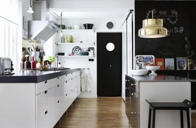 Кухня в скандинавском стиле позволяет совместить минимум деталей и максимум практичности