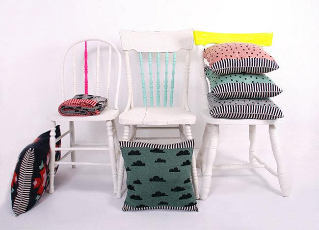 Стильные дизайнерские подушки для украшения дома и квартиры.