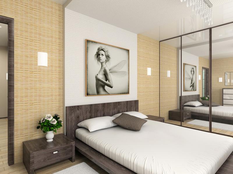 Дизайн в спальне своими руками фото