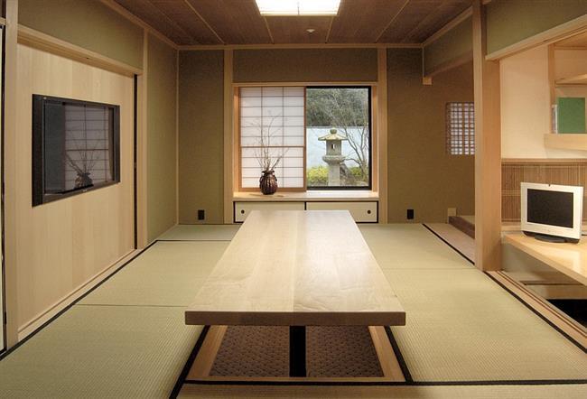 Многофункциональный офис в японском стиле.