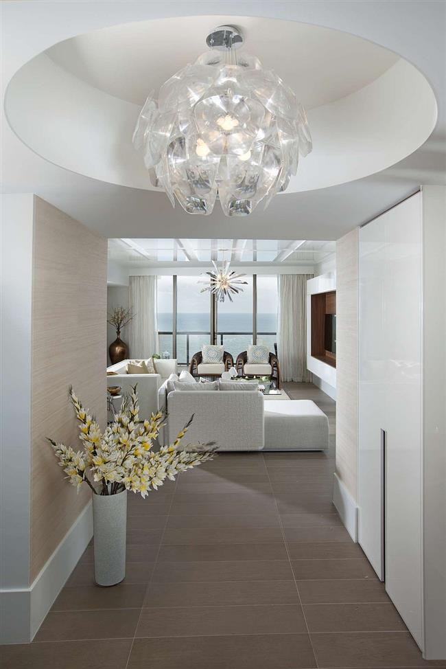 Дизайнерские светильники в интерьере дома.
