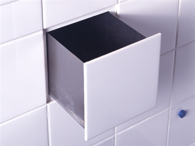 Многофункциональная плитка-ящик для хранения посуды.
