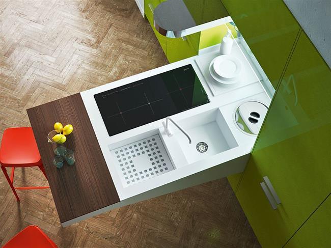 Стильная и изысканная современная мебель для кухни.