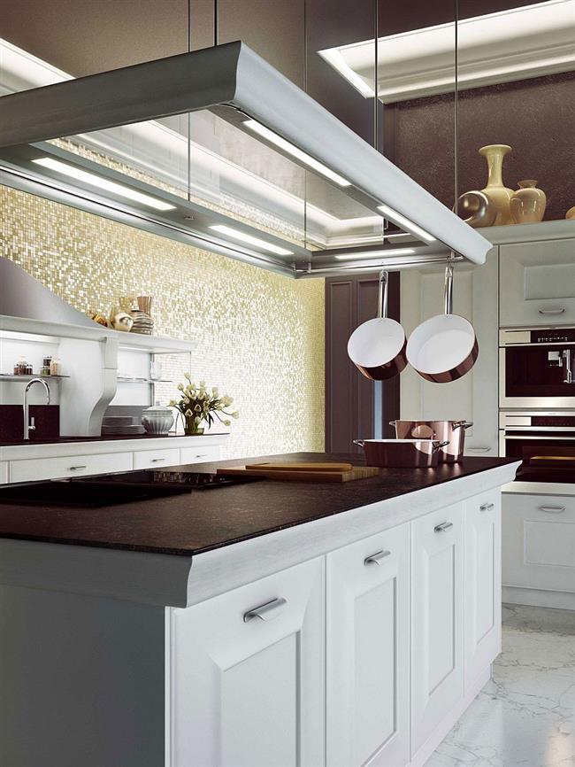 Экологически чистая и прочная столешница кухонного стола.