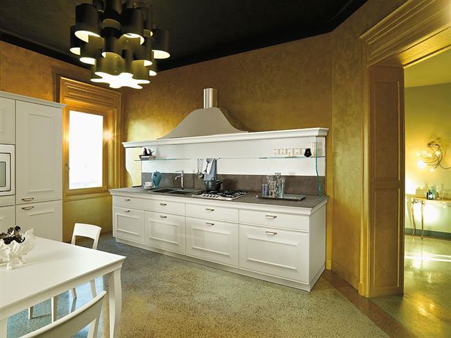 Кухонная мебель от Snaidero в интерьере современной кухни.